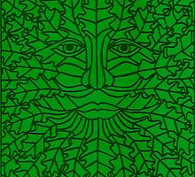 Green Man - 5 by MrsTreefrog