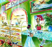 Day of the Dead La Panadería by Heather Calderon