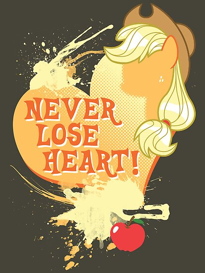 Applejack - Never Lose Heart by Gilles Bone