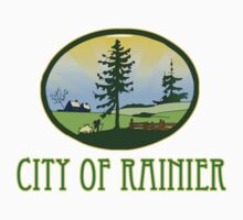 city of Rainier Washington truck stop novelty  Kids Clothes