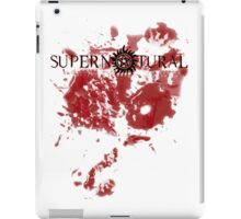 Supernatural - blood iPad Case/Skin