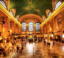 Golden Grand Central by Yhun Suarez