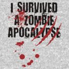 I Survived a Zombie Apocalypse by ScottW93