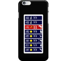 Dinosaur Extinction Weather Forecast iPhone Case/Skin