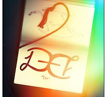 "I<3Ambigrams- ""Dee"" by Nikki Toong"