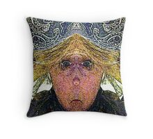 Mirabella H. Lugubrious (Art & Poetry) Throw Pillow
