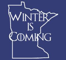 Winter is Coming to Minnesota by alittlebitnerdy