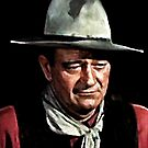 John Wayne iPad Case by ipadjohn