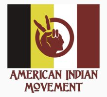 The American Indian Movement - Flag by Chunga
