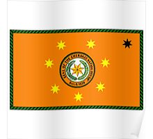 The Cherokee Nation - Flag Poster