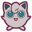 Jigglypuff Pokemon Minimal Design First Generation Sticker Shirt by Jorden Tually
