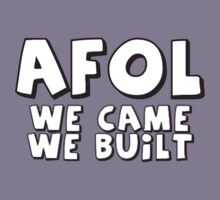 AFOL 'We Came, We Built' by Customize My Minifig by ChilleeW