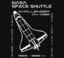 NASA Space Shuttle Challenger by Samuel Sheats
