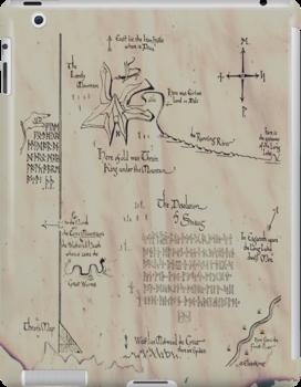 Thror's map by phoenixhowl