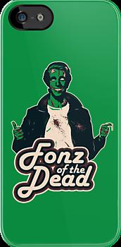 Fonz of the Dead by moysche