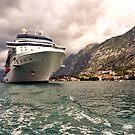 Docked in Kotor by Ryan Davison Crisp