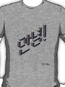 8-bit Annyeong! T-shirt (Black) T-Shirt