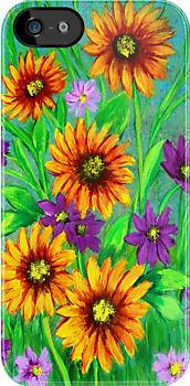 Flowers iphone   case  by maggie326