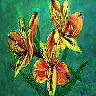 Tiger Lily Ipad case  by maggie326