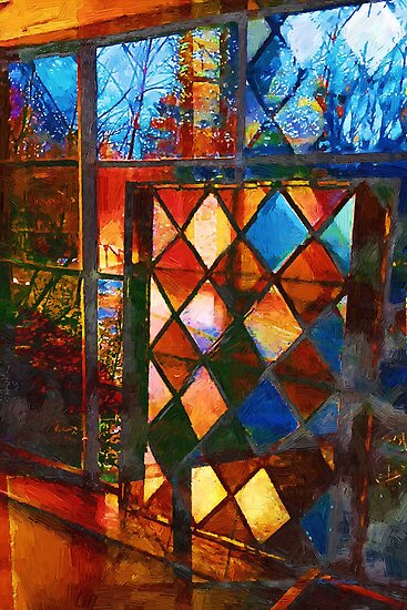 Harlequin Sunset by RC deWinter