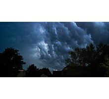 Weather Chaos in Suburbia Photographic Print