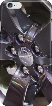 Chrysler 300C Car Wheel [ Print & iPad / iPod / iPhone Case ] by Mauricio Santana