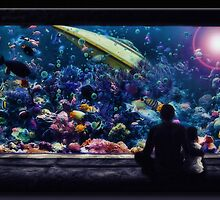The Aquarium by Richard  Gerhard
