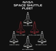 NASA Space Shuttle Fleet  by Samuel Sheats