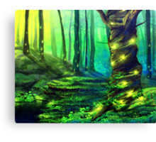 Bioluminescence Canvas Print