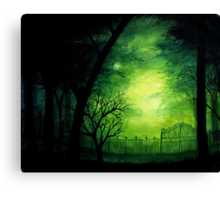 Ghastly Gate Canvas Print