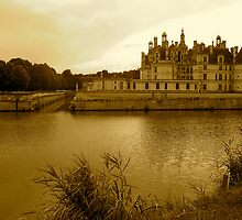 Chambord in Sepia by magicaltrails