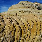 Rock formation near Boulder, Utah by Claudio Del Luongo