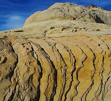 Rock formation near Boulder, Utah by Claudio Del Luongo