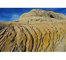 Rock formation near Boulder, Utah Photographic Print