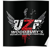 Woodbury Ultimate Zombie Fighter Poster