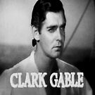 Clark Gable iPad case by ipadjohn
