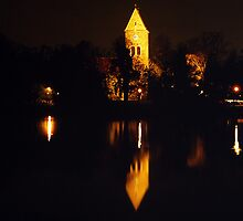 Church At Night by Daniel Quade