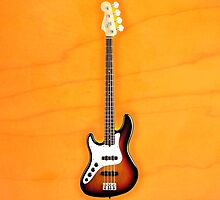Fender jazz bass lefty v1 iPhone Case by goodmusic