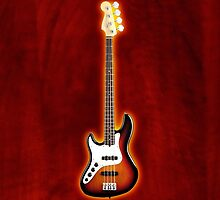 Fender jazz bass lefty v2 iPhone Case by goodmusic