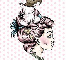 Tea Cup Lady by Ella Mobbs