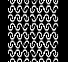 B&W pattern I by dominiquelandau