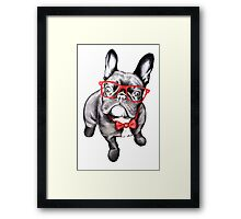 Happy Dog Framed Print