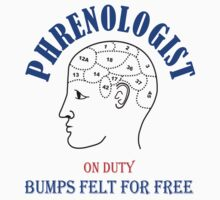 Phrenologist on duty - bumps felt for free by xenostral