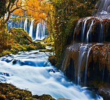 Duden Waterfalls by Baki Karacay