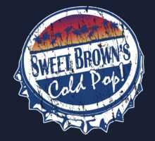 Sweet Brown's Cold Pop Bottlecap Shirt V1 by RDography
