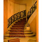 Hotel Paris Stairway by Thomas Barker