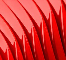 Abstract RED by Edmond Leung