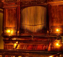Old Chapel Organ by Steve