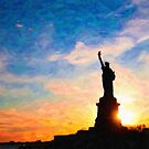 Statue Of Liberty USA by Adam Asar