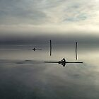 Rowers at Dawn by GraemeSkinner